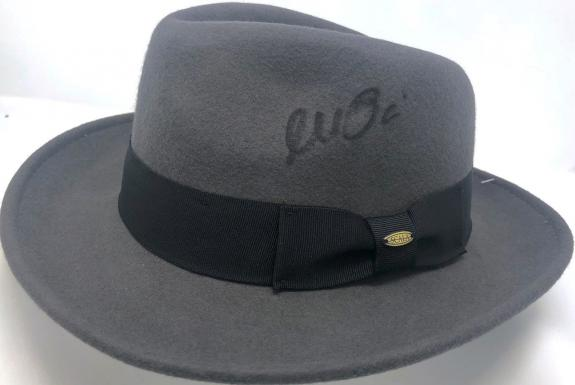 Al Pacino Signed Michael Corleone The Godfather Fedora Hat - Beckett BAS Witness