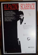 Al Pacino Signed Psa/dna Certified Scarface Movie Poster Authenticated Autograph