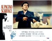 Al Pacino Signed Scarface Authentic Auto 11x14 Lobby Card Photo PSA/DNA ITP COA