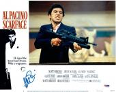 Al Pacino Signed Scarface Authentic Auto 11x14 Lobby Card Photo PSA/DNA ITP COA