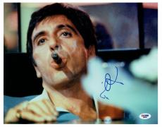 Al Pacino Signed Scarface Authentic Autographed 11x14 Photo (PSA/DNA) #D32043