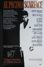 Al Pacino Signed Scarface Authentic Autographed 12x18 Movie Poster PSA/DNA ITP