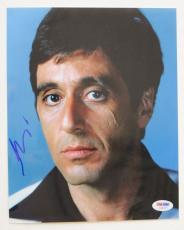 Al Pacino Signed Scarface Authentic Autographed 8x10 Photo (PSA/DNA) #I45207
