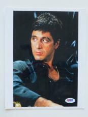 Al Pacino Signed Scarface Authentic Autographed 8x10 Photo (PSA/DNA) #K16912