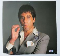 Al Pacino Signed Scarface Autographed 12x12 Calendar Page Photo PSA/DNA #D32033