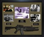 Al Pacino Signed Scarface Photo The World Is Yours w Gun Custom Shadowbox Displa