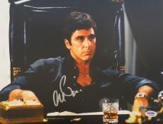 Al Pacino Signed Scarface Tony Montana 11x14 Office Photo PSA