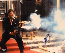 """AL PACINO Signed SCARFACE """"Tony Montana"""" 16x20 Photo PSA/DNA #4A98535"""