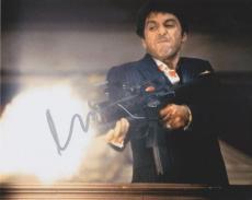 """AL PACINO Signed SCARFACE """"Tony Montana"""" 8X10 PHOTO w/COA"""