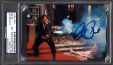 Al Pacino Signed Slabbed 4x6 Photo Scarface Auto Psa/dna Itp 83873901