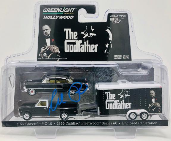 Al Pacino Signed The Godfather 1:64 Scale Die Cast Car Set - Beckett BAS Witness