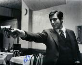 Al Pacino Signed The Godfather Michael Corleone 16x20 Gun Photo Beckett BAS