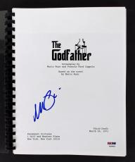 Al Pacino Signed The Godfather Movie Script PSA/DNA #7A44466