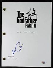 Al Pacino Signed The Godfather Part II Movie Script PSA ITP #7A44457