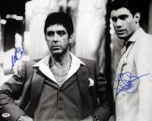 Al Pacino & Steven Bauer Autographed Signed 16x20 Photo Scarface PSA/DNA