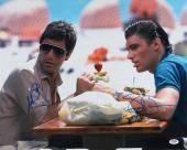 Al Pacino & Steven Bauer Autographed/Signed Scarface 16x20 Photo PSA/DNA COA