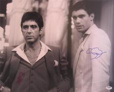Al Pacino Steven Bauer Dual Signed 16x20 Photo  Scarface Psa/dna Itp A1