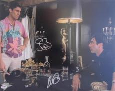 Al Pacino Steven Bauer Dual Signed 16x20 Photo  Scarface Psa/dna Itp A2