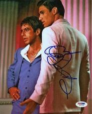 Al Pacino & Steven Bauer Scarface Signed 8X10 Photo PSA/DNA #W51795