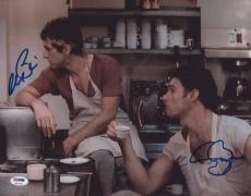 Al Pacino Steven Bauer Signed Authentic 11x14 Photo Scarface Psa/dna Itp 6a31560