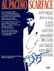 Al Pacino & Steven Bauer Signed Scarface Authentic 8.5x11 Photo PSA/DNA #X02202