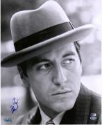 "Al Pacino The Godfather Autographed 16"" x 20"" Wearing Hat Photograph - BAS"