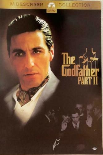 AL Pacino The Godfather Full size poster 27x40 PSA/DNA ITP COA Witness 3