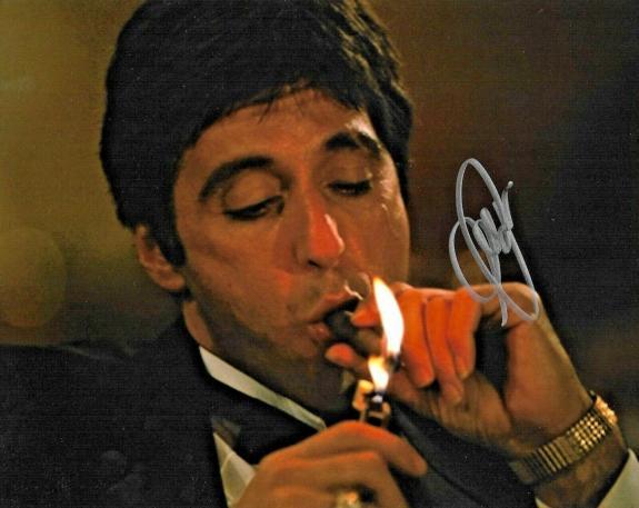 Al Pacino The Godfather Scarface The Irishman Signed 8x10 Auto Photo DG COA (A)