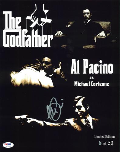 Al Pacino The Godfather Signed 11x14 Limited Edition Collage Photo PSA/DNA ITP