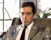 Al Pacino The Godfather Signed 11x14 Photo Autographed BAS #E85388