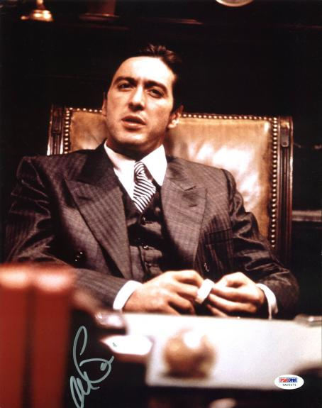 Al Pacino The Godfather Signed 11x14 Photo PSA/DNA Itp #5A00271