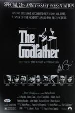 Al Pacino The Godfather Signed 12x18 Mini Poster Auto Graded 10! Psa #6a31132