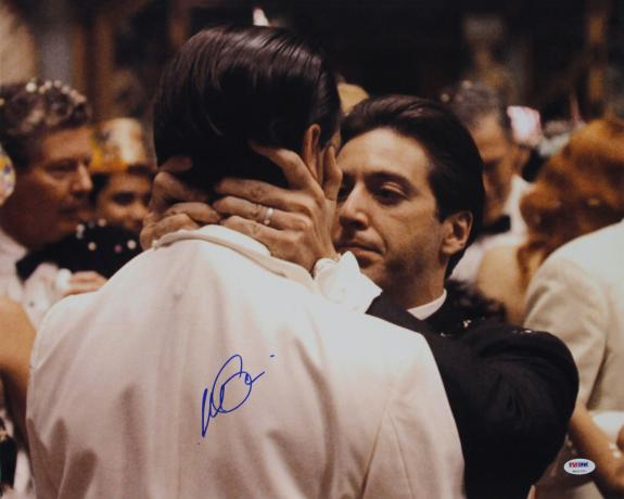Al Pacino The Godfather Signed 16x20 Photo Auto Graded Gem 10! PSA Itp #6A31251