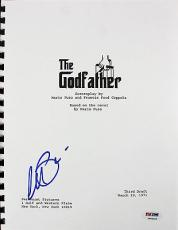 Al Pacino The Godfather Signed Movie Script PSA/DNA ITP #7A44452