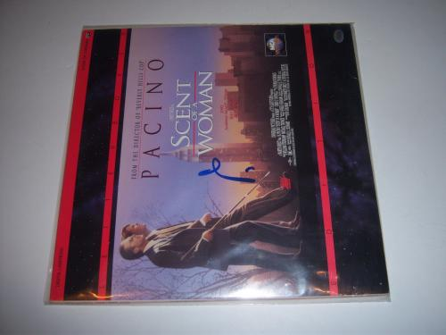 Al Pacino Scent Of A Woman Actor Td/holo Signed Laserdisc Album
