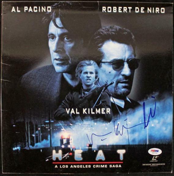 Al Pacino & Val Kilmer Heat Signed Laserdisc Cover PSA/DNA #J00721