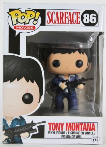 Al Pacino Vaulted Scarface Tony Montana #86 Funko Pop Vinyl Figure Un-signed