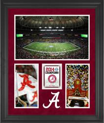 "Alabama Crimson Tide 2014 SEC Football Champions Framed 20"" x 24"" Collage"