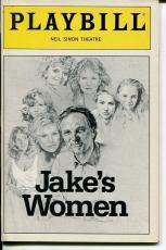 Alan Alda Helen Shaver Neil Simon Jake's Women Opening Night 1992 Playbill