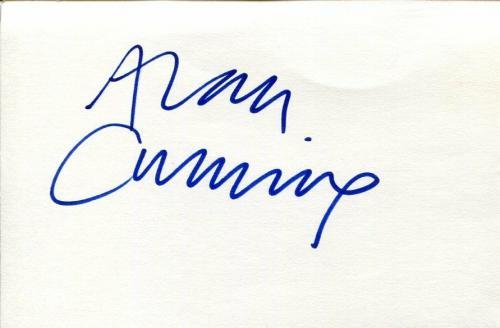 Alan Cumming James Bond Goldeneye X-Men Spy Kids The Good Wife Signed Autograph