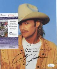 Alan  Jackson  Country  Personalized  Signed Autographed 8x10  Photo  Jsa L37303
