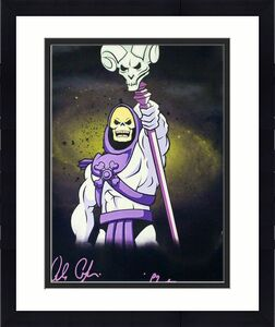 Alan Oppenheimer Signed Skeletor 11x14 Photo Masters Of The Universe Bas 21442