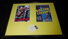 Albert Dekker Signed Framed 16x20 Dr Cyclops Photo Set