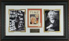 Albert Einstein - Laser Engraved Signature Framed Display