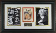 Albert Einstein - Laser Engraved Signature Framed Display