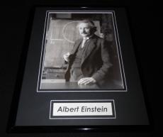 Albert Einstein Framed 11x14 Photo Display
