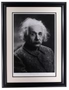 Albert Einstein Framed 16x22 Historical Photo Archive Limited Edition Giclee