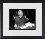 "Albert Einstein Framed 8"" x 10"" as Witness Photograph"