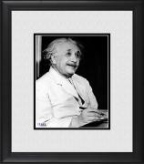 "Albert Einstein Framed 8"" x 10"" Smiling Photograph"