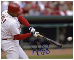 "Albert Pujols St. Louis Cardinals Autographed 8"" x 10"" Horizontal Batting Photograph"